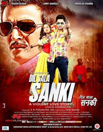 Poster Of Dil Sala Sanki 2016 Hindi 160MB HDRip HEVC Mobile Watch Online Free Download downloadhub.net