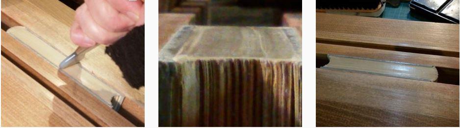 7f9613270b56 On peut laisser une tête brute parce que la papier est beau et que c est un  choix de départ pour respecter le livre ...