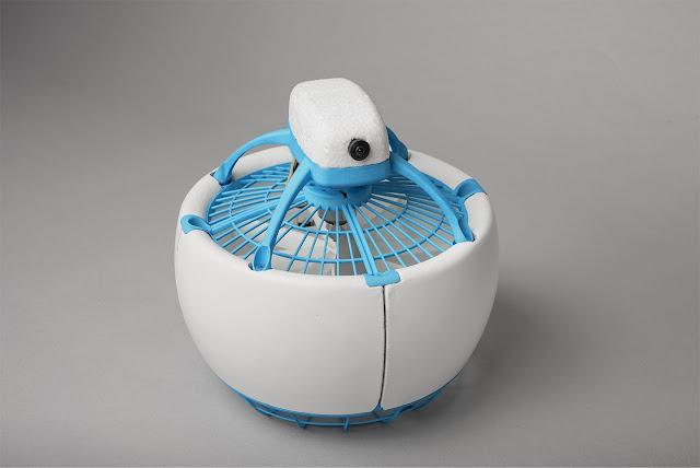 Fleye, Drone 'Bola' Paling Aman di Dunia