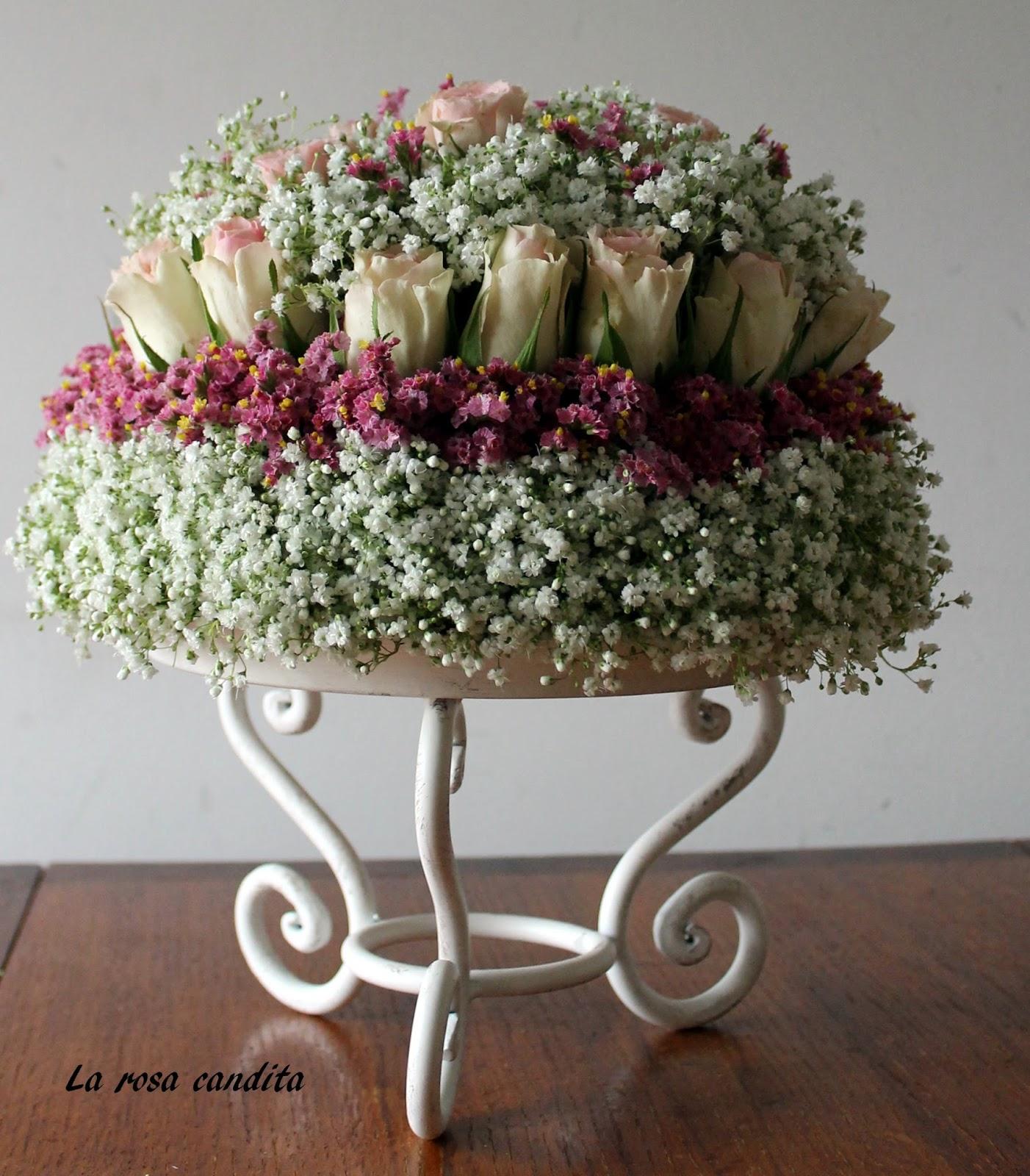 La rosa candita: Una torta di fiori
