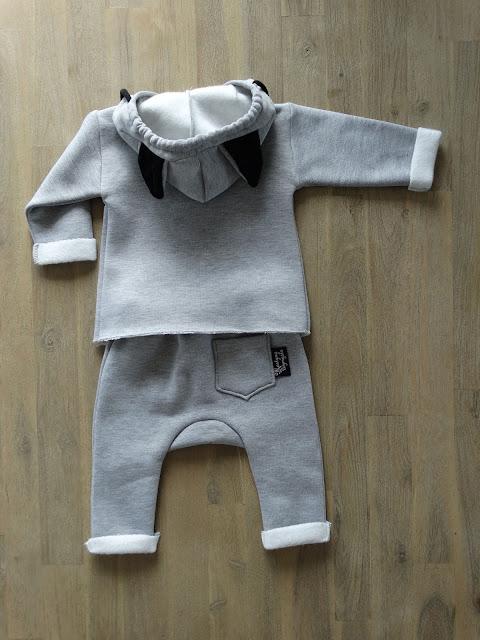 wygodny dresik dla niemowlaka 5