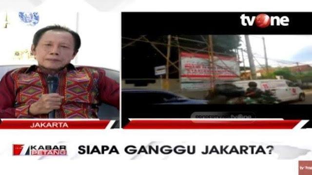 Konvoi Koopsus TNI ke Markas FP1, Bang Yos: Kita Belum Segenting Itu