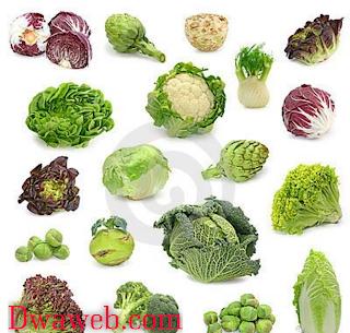 الخضراوات مصدر أساسى للكولاجين