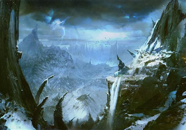 Aventura de Navidad para Dungeons & Dragons - La Frontera del Invierno - Llanura Quebrada
