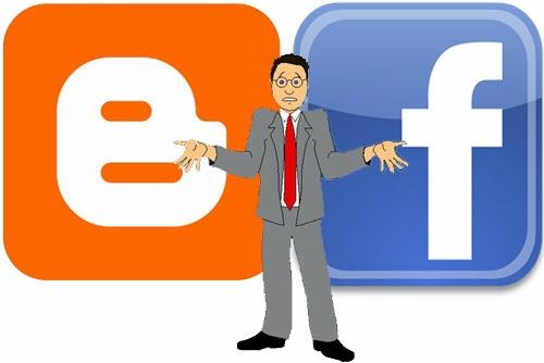 Facebook y Blogger