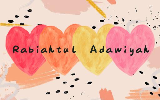 BLOG RABIA ADAWIYAH