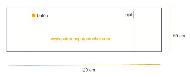 molde-poncho