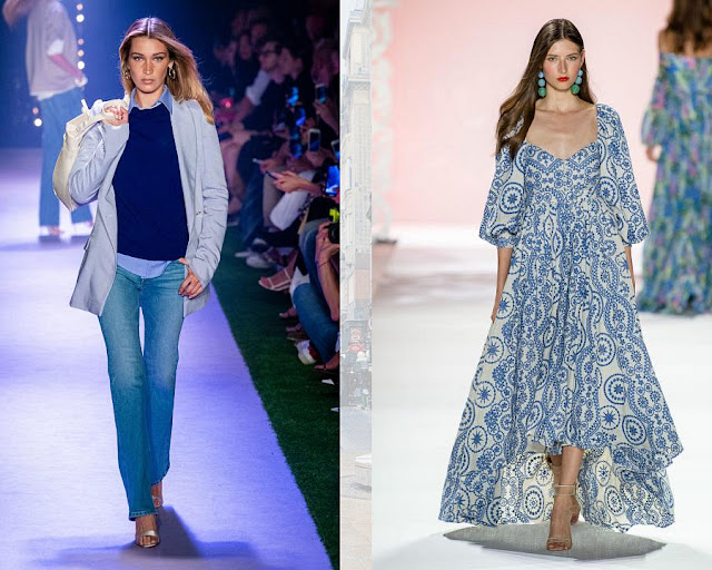 Потертый деним модные цвета весна-лето 2020 2