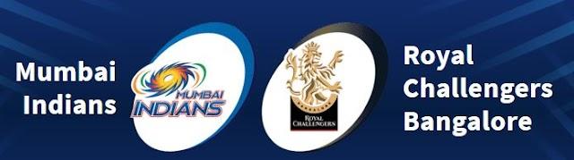 Indian Premier League 2021 - 1st Match   Mumbai Indians vs Royal Challengers Bangalore