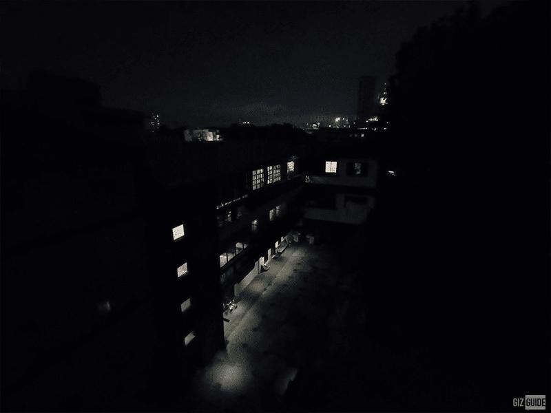 Rear camera low light Night mode ultra-wide