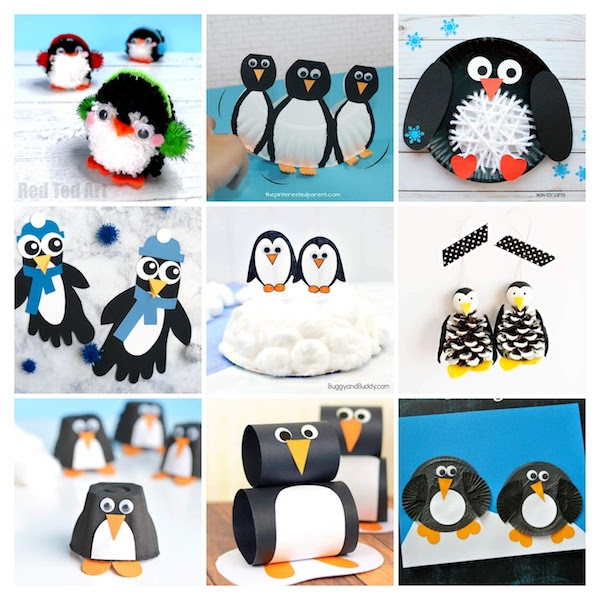 30 Easy Winter Crafts For Kids The Joy Of Sharing