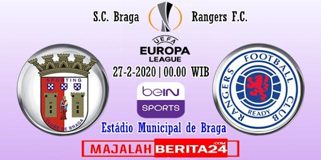 Prediksi Sporting Braga vs Rangers