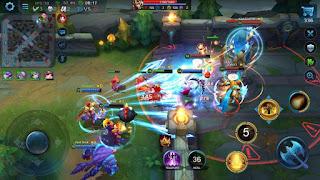 game Moba Android terbaik terpopuler - Heroes evolved