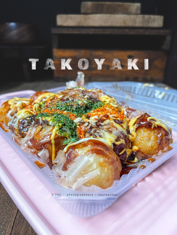 Takoyaki Snek Jepun