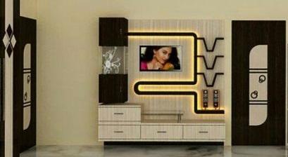 Modern TV cabinets wooden - TV wall units design ideas 2020