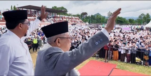Kiai Ma'ruf Amin: Pilpres 2019 Perang Ideologi antara Kelompok Moderat dan Radikal