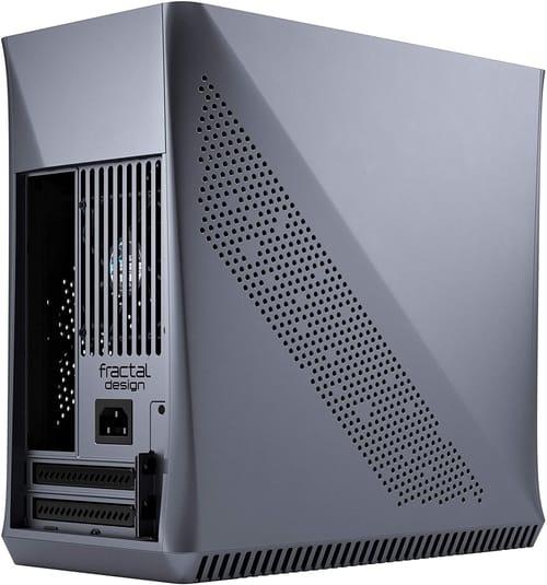Review Fractal Design Era ITX Titanium Gray Anodized PC Case