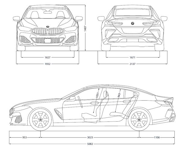 Spesifikasi BMW 840i Gran Coupe