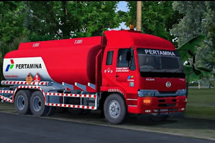 SALE!!! Mod Truck Nissan PK260 Tangki Pertamina