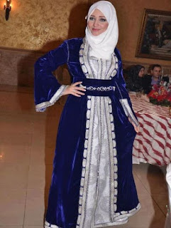 baju pesta muslimah cantik