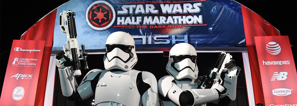 Corrida Star Wars Half Marathon - The Dark Side