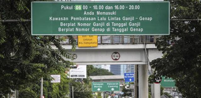 """Ribuan Pelanggar Gage Jakarta Karena """"Uji Nyali"""" Dengan Petugas"""