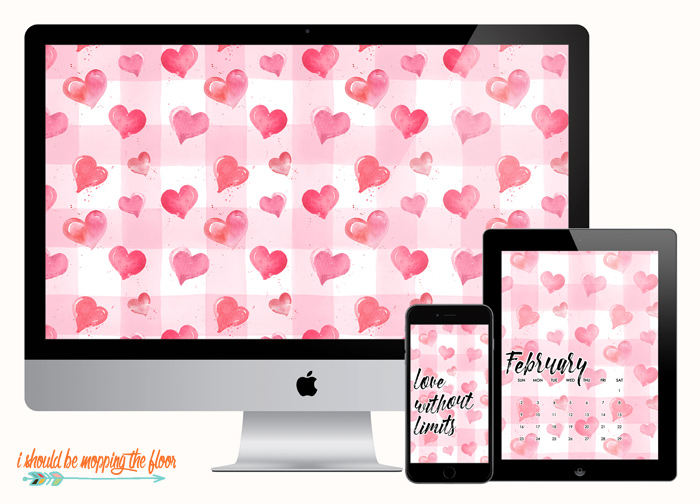 Valentine Device Wallpaper