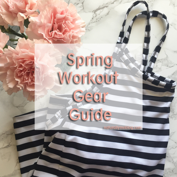 Spring, workout wear, Spring workout gear guide, activewear, shop, spring workout wear, stripes, floral, pantone, white sneakers, Adidas, Nike, florals, activewear, gym wear