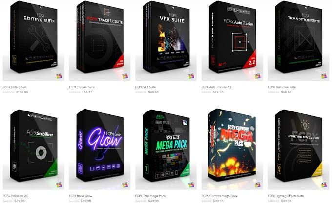 Final Cut Pro X Presets[Pixel Film Studio][Plugins][Bundle 2020]