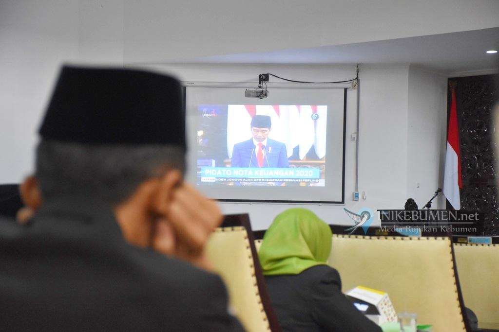 DPRD Kebumen Gelar Tiga Kali Rapat Paripurna Dengarkan Pidato Kenegaraan