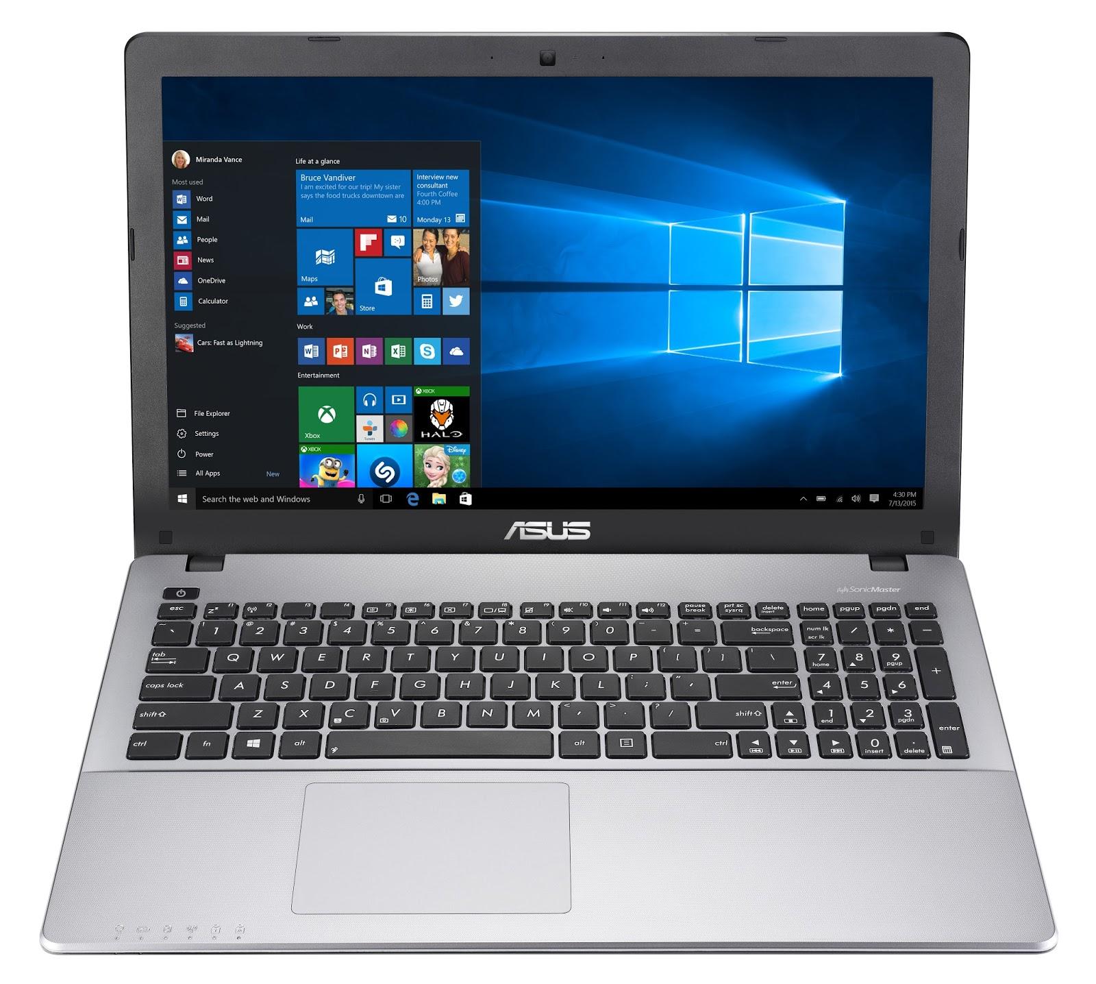Tak hanya memiliki desain menawan ASUS X550ZE dikenal sebagai salah satu laptop gaming yang mampu melahap game high end sekelas Watch Dog