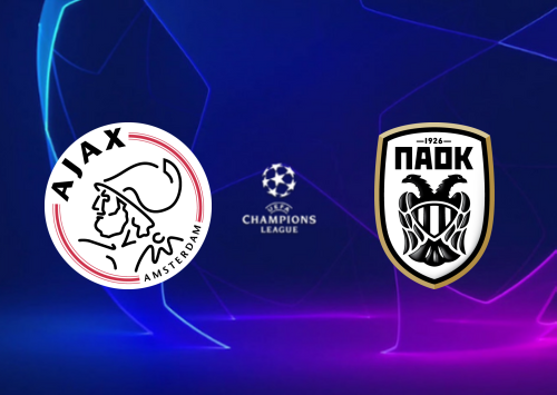 Ajax vs PAOK - Highlights 13 August 2019