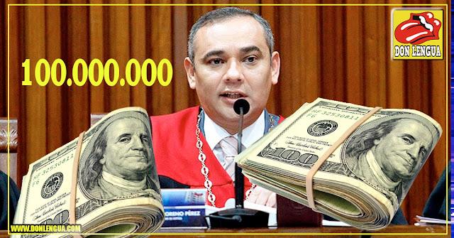 Maikel Moreno pide 100 millones de dólares para reconocer a Guaidó como presidente