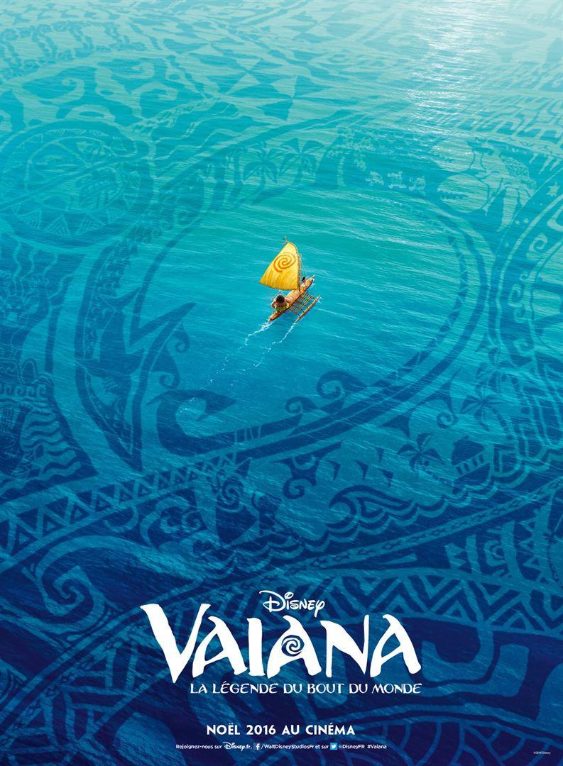 Nuevo póster francés de 'Vaiana' (conocida anteriormente como 'Moana')