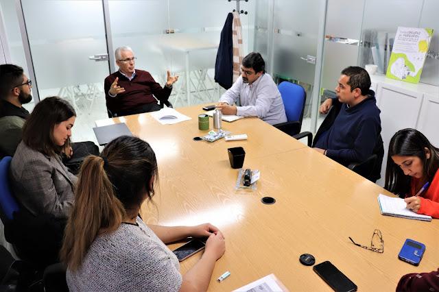 Colectivo Chilenos en Madrid se reúne con Baltasar Garzón