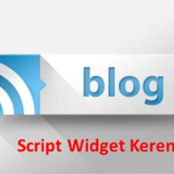 Script Widget Recent Post Keren