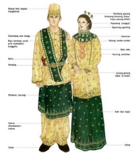 baju adat sulawesi utara