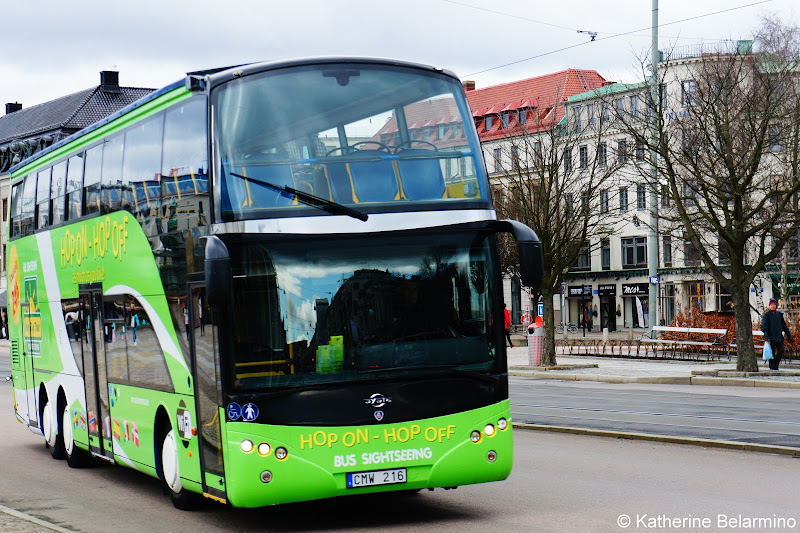 Sightseeing Bus Things to Do in Gothenburg Sweden