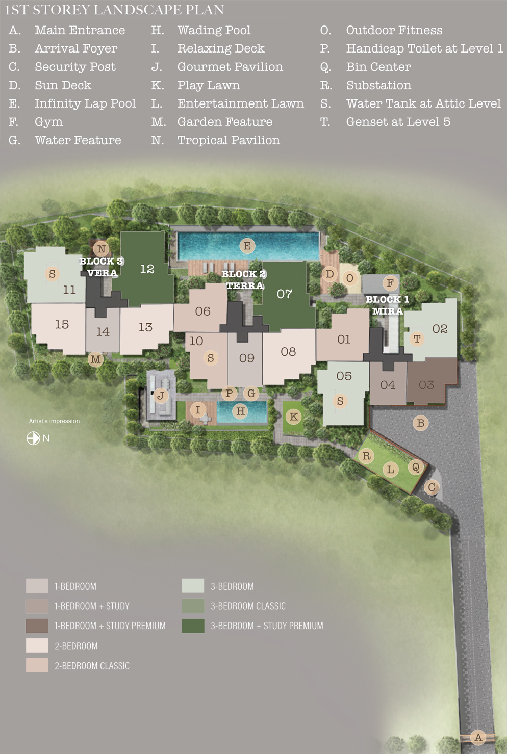 35 Gilstead - Site Plan