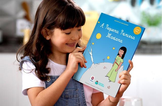 Crianças viram O Pequeno Príncipe no clássico da literatura