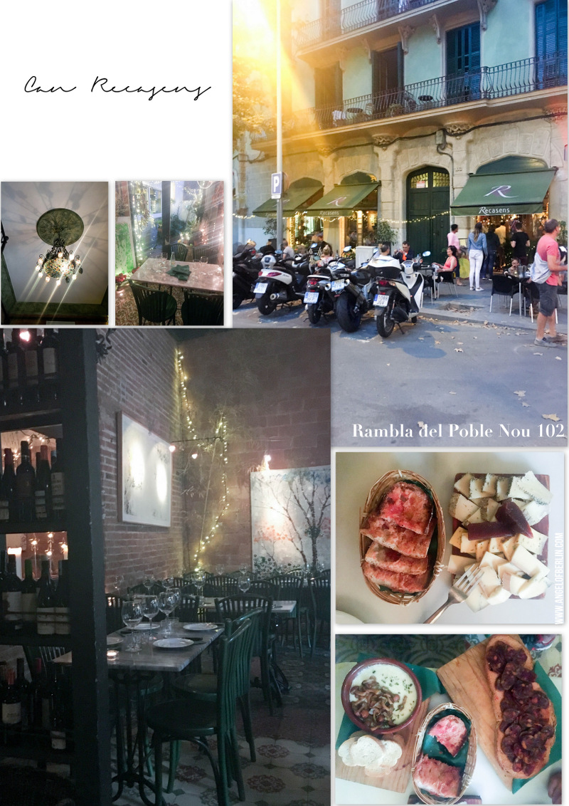 Barcelona Restaurant Can Recasens in Poble Nou