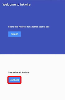access android screen