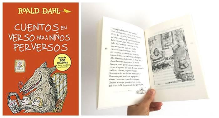 mejores libros de poesía infantil, Cuentos en verso para niños perversos Roald Dahl