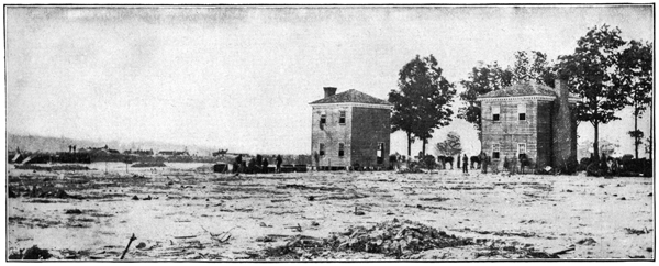 slaughter field of Fair Oaks; image from USHistoryImages.com