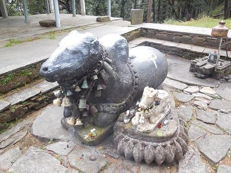 Binsar Mahadev, Chauthan, Thalisain