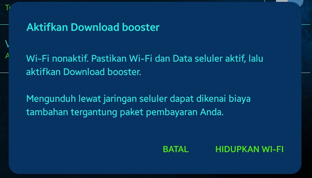 Rahasia Kecepatan Download Internet Samsung Galaxy dengan 30MB Lebih Perdetik
