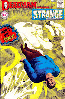 Strange Adventures v1 #213 dc 1960s silver age comic book cover art by Neal Adams