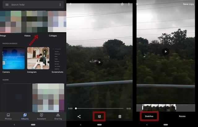 Cara Edit Video Menggunakan Aplikasi Google Photos App. 3