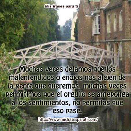 El Puente Y El Carpintero Reflexiones De Vida Mis Frases