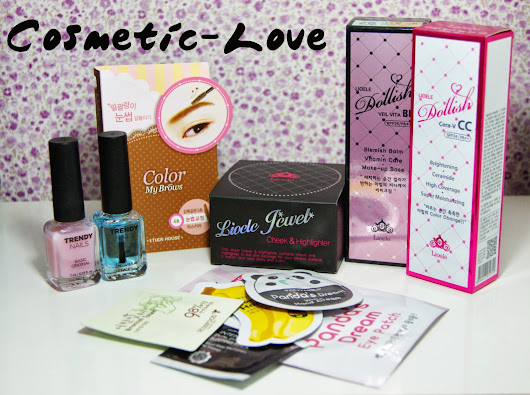 Shopping chez Cosmetic-Love & BeautynetKorea ♪